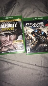 two Xbox One game cases 300 mi