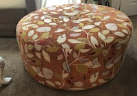 Large upholstered ottoman on wheels Fort Myers, 33908