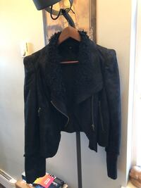 Hand made Vegan suede jacket size L Vancouver, V6E 1Y8