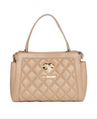 Authentic Love Moschino nappa quilted bag