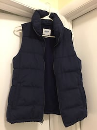 Womens Blue Old Navy vest, size small petite Vienna