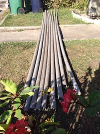 180 Feet of Rigid PVC Pipes / Conduits - Above and Homestead, 33033
