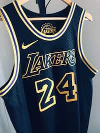 8f6b89ece20 Nike AUTHENTIC Kobe Bryant  24 Lakers City Edition Lore Series. Men s Large  Size 48