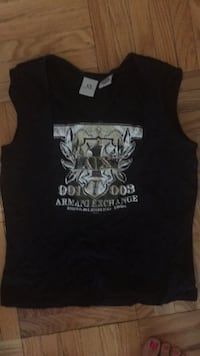 armani exchange top size m