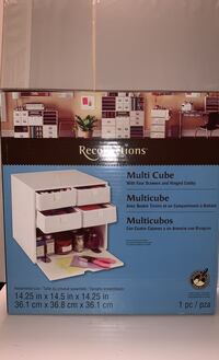 Four Drawer & Hinged Cubby Multi Cube for art supplies/office/sewing Washington, 20024