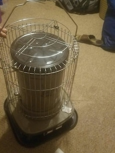 stainless steel framed kerosene heater