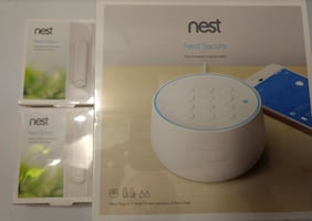 Nest - Secure Alarm System With 2 extra Nest Detec