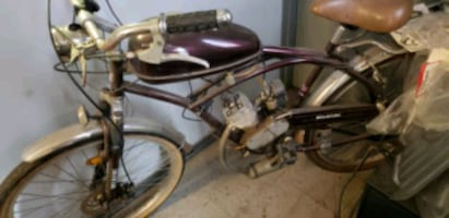 Bicycle with 50cc motor