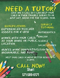 Tutoring Manassas