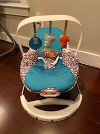 2 in 1 bouncer and chair