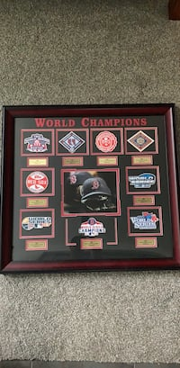 Framed Red  Sox World series championsips Charlotte, 28203