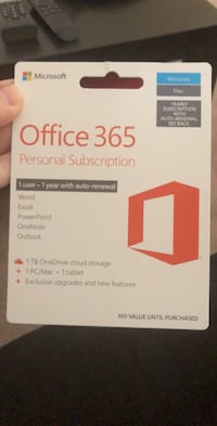 Microsoft Office 365 Personal Subscription Venice, 34292