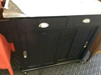black wooden cabinet with drawer Fort Wayne, 46808