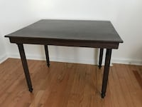 Rectangular antique wooden table Durham