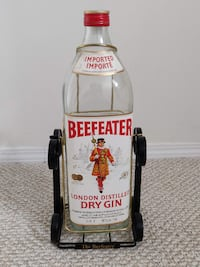 Beefeater - London Distilled Dry Gin - Empty Bottle Calgary
