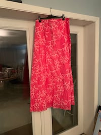 Lilly Pulitzer maxi skirt size 14