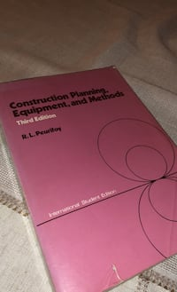 Construction Planning, Equipment, and Methods  ODTÜ inşaat Müh. İçin
