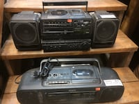 BoomBoxes $10 New Westminster, V3M 3P1