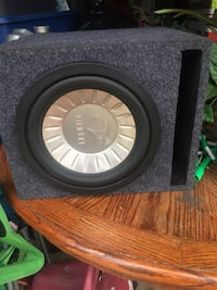 black and gray Kicker subwoofer Farmersville, 93292
