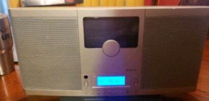 Brookstone CD player and stereo combo