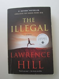 Softcover Book The Illegal by Lawrence Hill Book