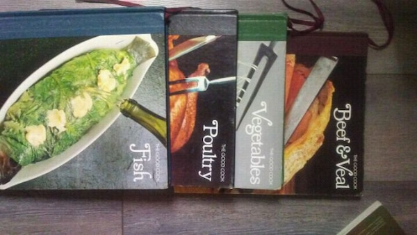 Cookbooks set of 4