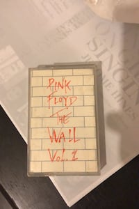 Pink Floyd The Wall kaset
