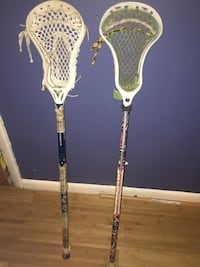 2 Lacrosse sticks the price of 1 Alexandria, 22302