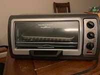 black and gray toaster oven Alexandria, 22314