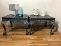 Antique clawfoot end tables. Price is firm Calgary, T3J 0B3