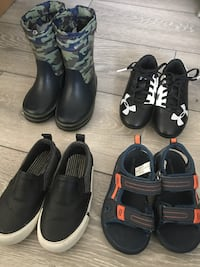 4 pairs Boys Size 8 Shoes & Boots Coquitlam, V3B 7H8