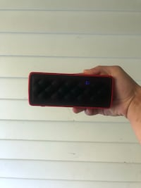 Black and red Bluetooth speaker  Dunnellon, 34432