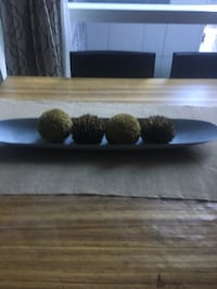 Table decor or kitchen bread display