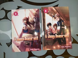 i am here! Manga lot Volume 1 & 2 English Paperback by Ema Toyama