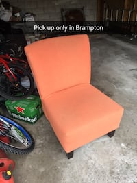 Orange Sofa Chair  Brampton, L6Z 4V9