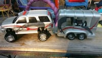 Truck & trailer with horse Roxana, 62084