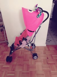 Brand new Baby's pink and black stroller Toronto, M2J