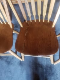 set of 4 oak chairs Front Royal