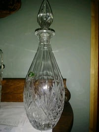"""16"""" Crystal decanter Charles Town, 25414"""