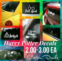 Harry potter decals New Oxford, 17350