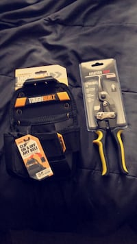 Tool belt pocket with Snips. Bloomington, 47404
