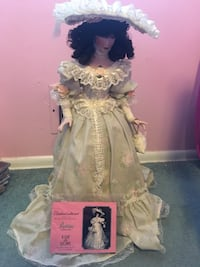 Paradise Galleries Porcelain Doll Howell, 07731