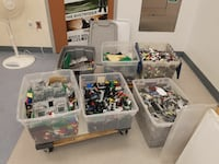 LEGO bulk tubs 150 pounds plus others