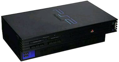 PS2 console w/ network hard drive adapter
