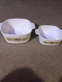 Two white old ceramic bowls Bellevue, 68157