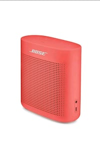 Bose sound link bluetooth speaker, coral red Toronto, M1G 1W4
