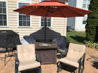 Patio Chairs and 10' Umbrella  Edinburg, 22824