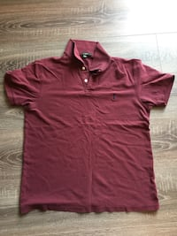 Red polo shirt J Crew size S Bethesda, 20814