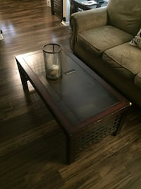 rectangular clear glass top coffee table Mount Laurel, 08054