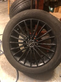 2 rims and tires 205 55 16 Bradford West Gwillimbury, L3Z 3E9